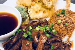 Beef Teriyaki & Tempura Combo