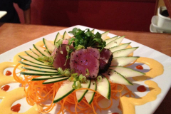 Seared Tuna Sashimi